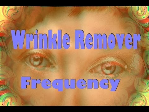 Wrinkle Remover Frequency - Facial Collagen Skin Repair Anti-aging video