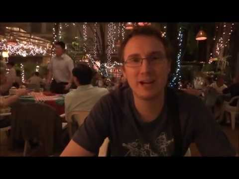 Dinner at Cabbages and Condoms in Bangkok, Thailand