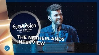 Interview with Duncan Laurence from The Netherlands 🇳🇱 - Eurovision 2019