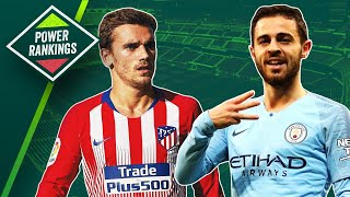 Antoine Griezmann & Bernardo Silva the stars of this week?  ► European Power Rankings