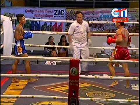 CTN Boxing, Soum Dern Ti VS Ret Mauny, 24-Aug-2014, Round 01