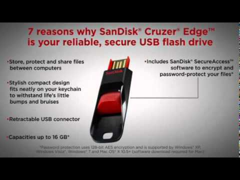 SanDisk CruzerEdge   7 Reasons