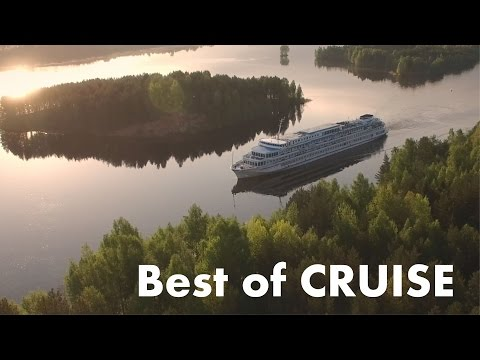 Best of Russia St.Petersburg - Valaam - Kiji Aerial / Круиз Валаам - Кижи с квадрокоптера