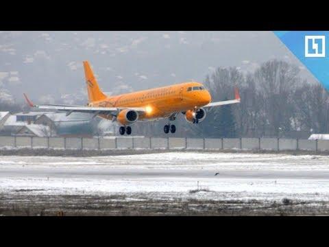 Первый рейс в Москву из Орска после трагедии