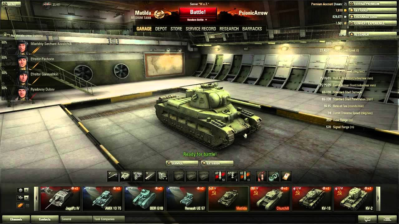 wot how to play matilda iv