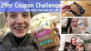 24 hour coupon challenge (not really a challenge, cos I was loving life)
