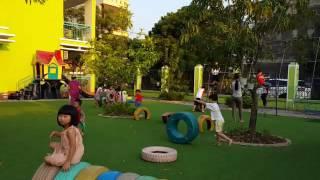 Sân chơi ngoài trời-Trường mầm non Việt Hưng