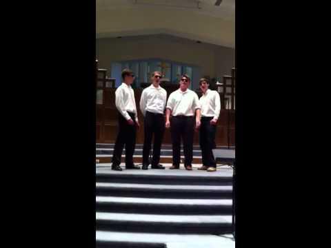 """""""Bro Tones"""" Wilson Hall quartet"""
