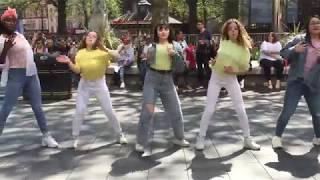 K-pop dance in public ( London )!! Boy With Luv