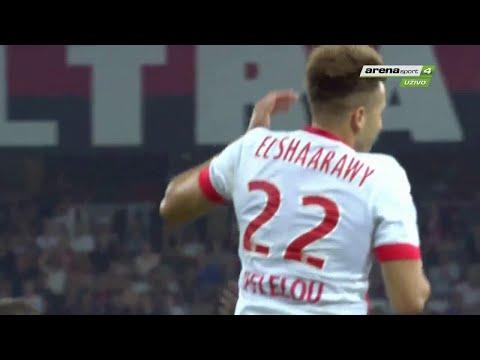 Stephan El Shaarawy vs OGC Nice Away HD 720p (08/08/2015)