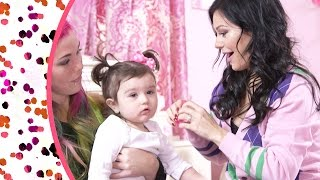 JWOWW Cute Hairstyles for squirmy kids!