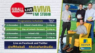 #OTB in the Aviva Fan Studio: Ireland's tatical set-up