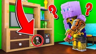HOMEM-FORMIGA SE ESCONDEU DO THANOS NO MINECRAFT !