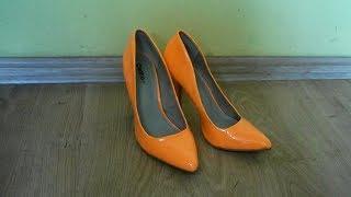 146 women in black boots crushing high heels