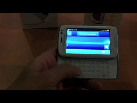 Video: Sony Ericsson Txt Pro -Guerrero Móvil-