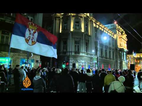 Ruling party wins huge margin in Serbia: poll