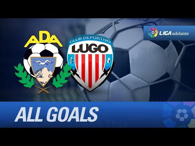 Todos los goles de AD Alcorcón (1-0) CD Lugo - HD
