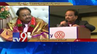 SP Balasubrahmanyam sensational comments on Telugu people - TV9