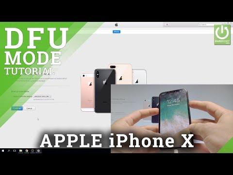 DFU MODE in iPhone X - Enter & Quit DFU Mode