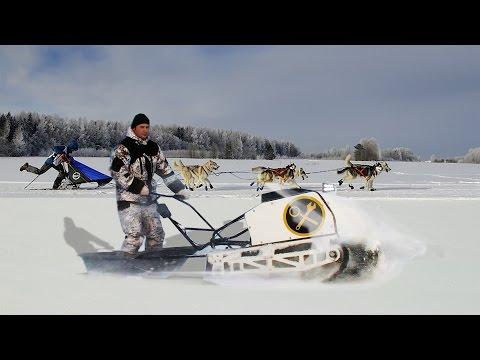 Снегоходы мотобуксировщики. Самые доступные зимние вездеходы!