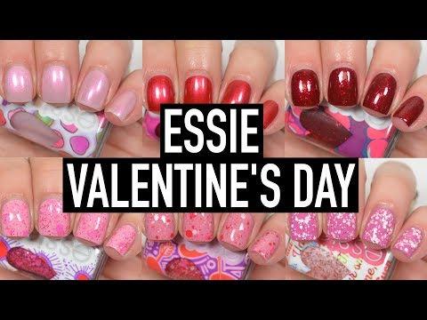 Essie - Valentine's Day   Swatch and Review