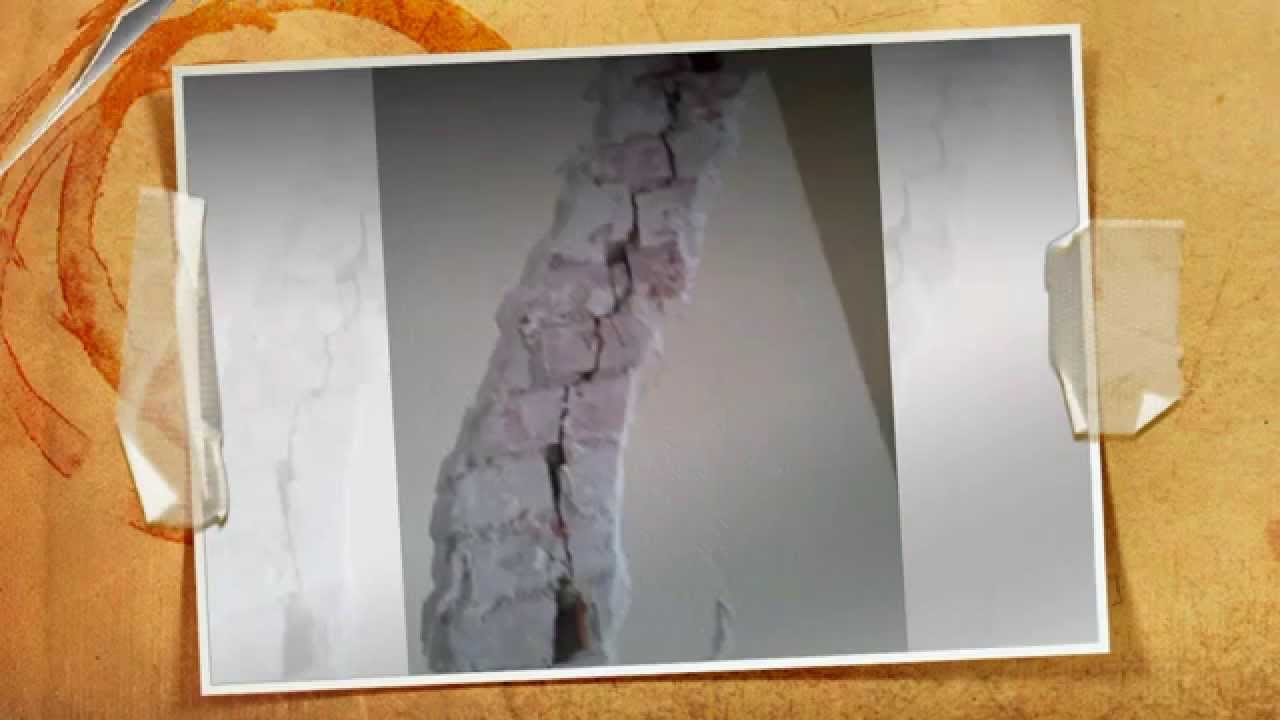 Como reparar grietas pared de forma profesional youtube - Como solucionar humedades en paredes ...