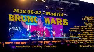 Download Lagu Bruno Mars - 2018-06-22 Madrid - Full Concert Gratis STAFABAND