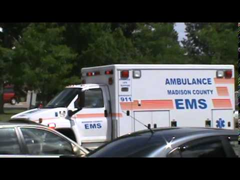 Madison County Ems EC3 transporting on 6-11-14