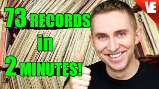 73 RECORDS IN 2 MINUTES