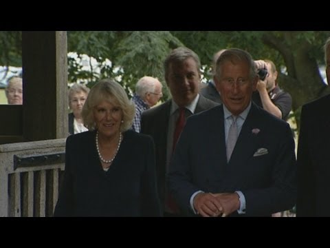 Prince Charles and Camilla attend concert with Judi Dench and Maggie Smith
