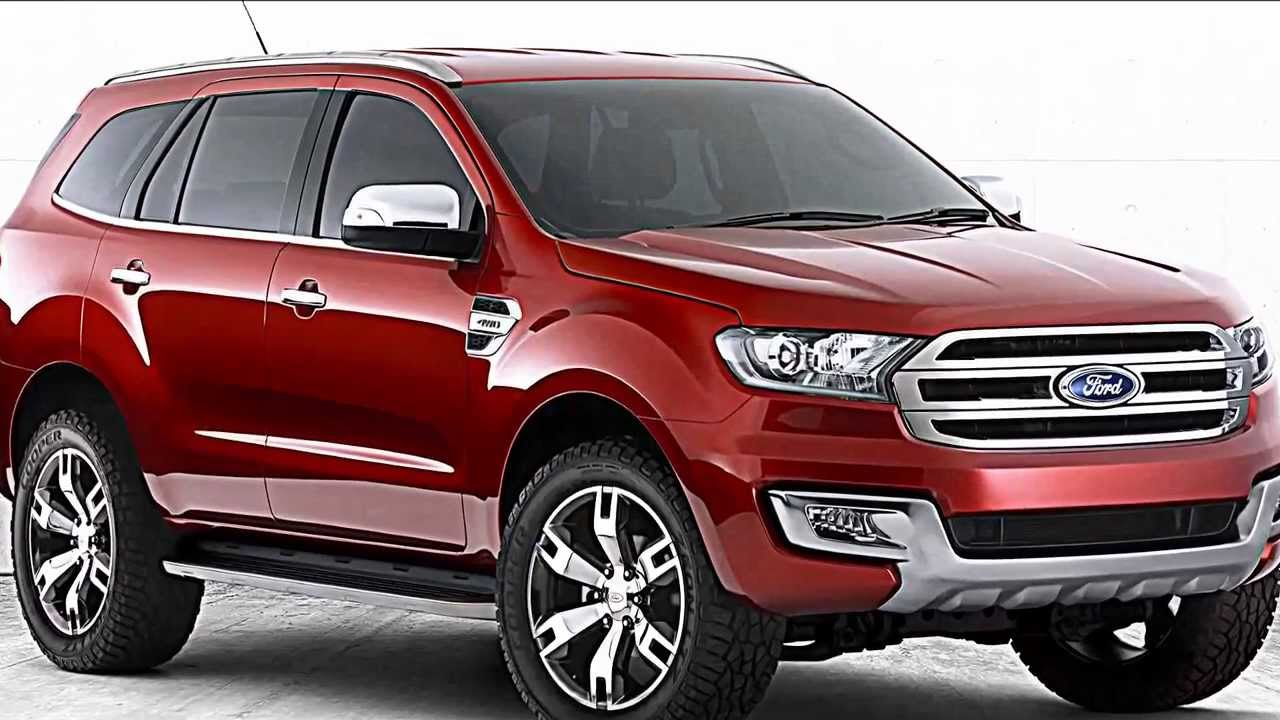 2015 Ford Everest Preview Ranger Suv Futura Concorrente Da