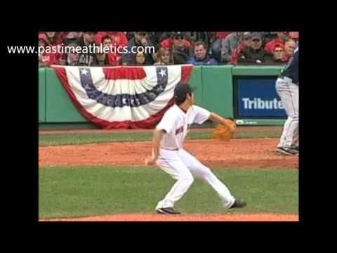 Koji Uehara Pitching Slow Motion - Red Sox MLB
