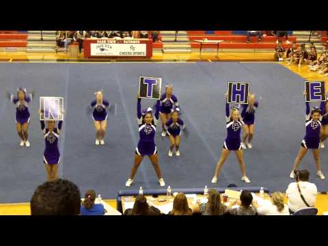 2014 Potomac Falls High School cheer competition at Park View 10/1/14