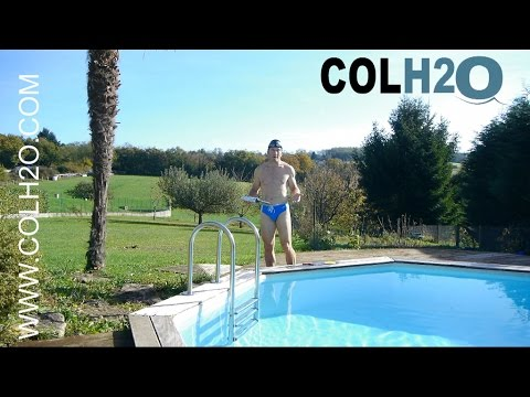 colh2o r paration liner piscine directement sous l 39 eau avec une rustine youtube. Black Bedroom Furniture Sets. Home Design Ideas