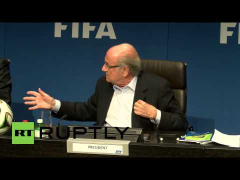 Switzerland: FIFA's Blatter 'not asked to publish Garcia Report'