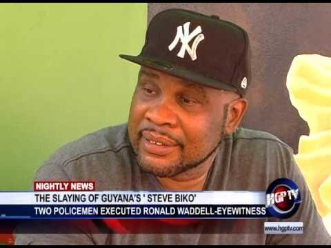 THE SLAYING OF GUYANA'S ' STEVE BIKO