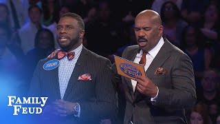 The Herrings play for a cool $20,000 in FAST MONEY! | Family Feud