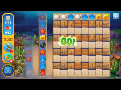Fishdom level 690 Gameplay (iOS Android)
