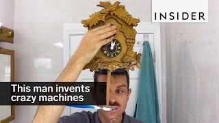 This man invents crazy machines for everyday life