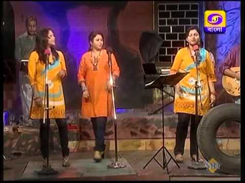 MENOKA MATHAI DILO BY TEETAS FOLK FUSION BAND CONDUCTED BY MARY...