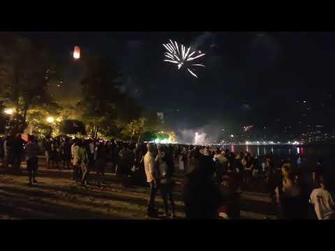 Новый год в Таиланде на Пхукете на 4 часа раньше чем дома. Пляжный праздник!