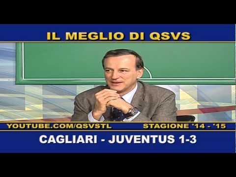 QSVS - I GOL DI CAGLIARI - JUVENTUS 1-3  - TELELOMBARDIA