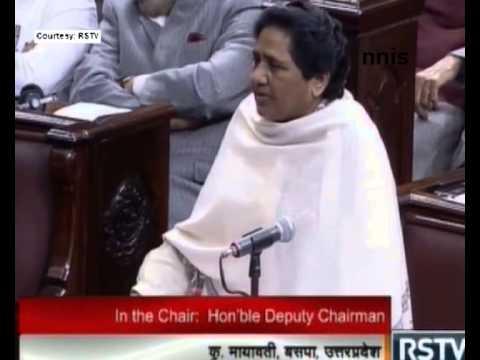 Land Bill Shouldn't Be Placed In Rajya Sabha – Mayawati