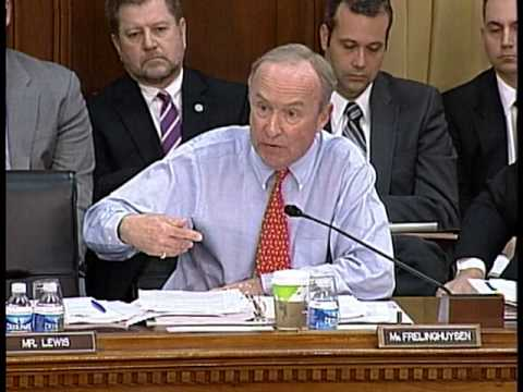 Frelinghuysen Questions Secretary Gates and Admiral Mullen
