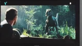 Jurassic world fallen kingdom | Owen and Blue reunite scene