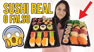 Sushi REAL vs FAKE