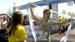 Überraschender Sieger beim 35. Leipzig Marathon
