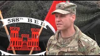 588th BEB Welcome Ceremony in Boleslawiec