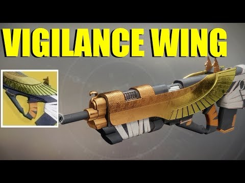 Destiny 2- Vigilance Wing Exotic Pulse (Crucible Review/ First Impressions)
