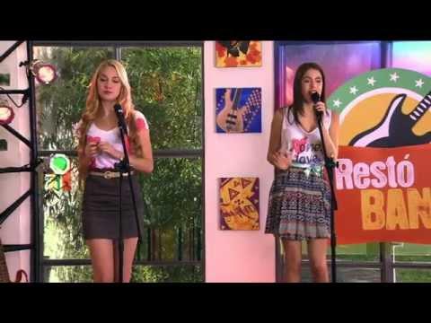Violetta Momento musical Violetta y Ludmila cantan Te creo